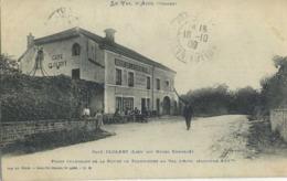 CPA 88 Val D'Ajol Café Cloley Lieu Dit Hotel Enfoncé 1908 - Francia