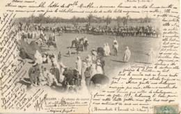 ALGERIE - BISKRA - 121 - Le Champ De Course  - Phot. Leroux Alger - - Biskra