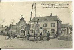60 - FEUQUIERES / LA CHAPELLE SAINTE ANNE - EMBRANCHEMENT DES ROUTES DE GRANDVILLIERS ET MARSEILLE EN BEAUVAISIS - France