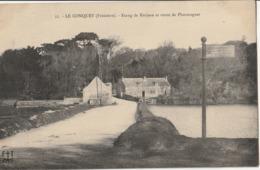 LE CONQUET - Etang De Kerjean Et Route De Ploumoguer - Le Conquet