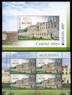 2017Moldova 1000/MHEurope CEPT 26,00 € - 2017