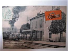 FRANCE  - CÔTE D'OR - VITTEAUX - La Gare - France