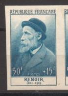 Personnages Célèbres Renoir De 1955 YT 1032  Infime Trace De Charnière - France