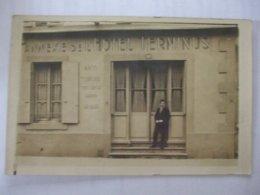 SDV1019- 79 - NIORT  - CARTE PHOTO DE L'ANNEXE DE L'HOTEL TERMINUS -- - Niort