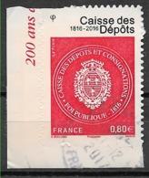 FRANCE 1269A Caisse Des Dépôts . - Adhésifs (autocollants)