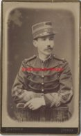CDV Officier Du 29e R-photo Berthaud, Diectrich Successeur - Guerra, Militares