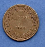 Médaille -- Société De Propagande  -  Forticaux -  Narcisse De Paris - France