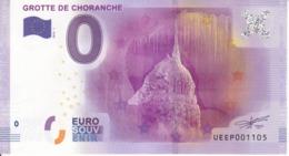 Billet Touristique 0 Euros Grotte De Choranche UEEP001105 - Specimen