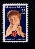862275298 SCOTT 2449 POSTFRIS MINT NEVER HINGED EINWANDFREI (XX) - LITERARY ARTS  MARIANNE MOORE - United States