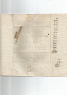 5  Lettres De  VALENCIENNES - 1801-1848: Précurseurs XIX
