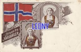 CPA De NORVEGE - HILSEN FRA HARDANGER - CARTE De 1899 - Norway