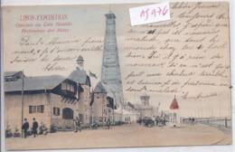 LIEGE- EXPOSITION UNIVERSELLE DE LIEGE 1905- LE QUARTIER DU COIN HUMIDE- PERFORATEUR DES MINES - Liege