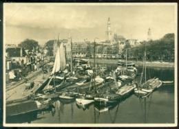 Nederland 1940 Briefkaart G 240 S Stads- En Dorpsgezichten Serie VIII Nr. 3 Groningen Zuiderhaven KOPSTAAND - Postwaardestukken