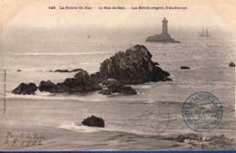 29 PLOGOFF Le Raz De Sein, Les Récifs ; Phare De La Vieille, Chalutier - Plogoff