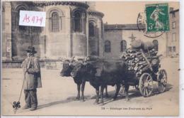 LE PUY- ATTELAGE- TRANSPORT DU BOIS - Le Puy En Velay