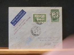 A11/062 LETTRE  ALGERIE  19381° VOL  CONSTANTINE - BONE - Algérie (1924-1962)