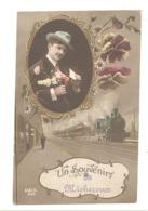 Souvenir De MICHEROUX  - Train, Gare,...1919 Envoyé Vers Froidthier  (b266) - Soumagne