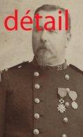 A Voir-CDV Officier Du 32e R Médaillé Vers 1881-colonel? Très Bel état-photo Buguet à Tours - Guerra, Militares