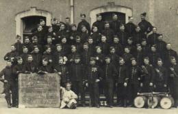 Carte Photo 104 E D'Infanterie 8e Compagnie Capitaine Le Gallois 1907 T RV Bouhours Photo Vincennes - Photographie