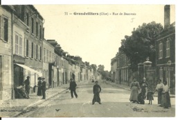 60 - GRANDVILLIERS / RUE DE BEAUVAIS - Grandvilliers