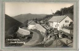 CPA -GOLDBACH (68) - Ferme-Auberge -Transhumance D'un Troupeau De Vaches Vers Les Prés Du Rossberg En 1952 - Carte-Photo - France