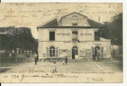 93 - GOURNAY / LA MAIRIE ET LA POSTE - Gournay Sur Marne