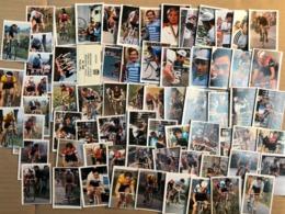68 Chromos / Stickers Bergmann Edition 2000 -  Cyclists - Cyclisme - Ciclismo - Wielrennen