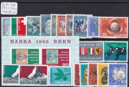 Schweiz 1965, Jahrgang Komplett (B.2540) - Nuovi