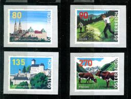 Österreich 2019: Mi.-Nr. 25 - 28:  Dispensermarke   ** - 1945-.... 2nd Republic