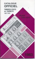Catalogue Officiel Timbres Poste En Carnets 1983 - 56 Blz - Nieuwe Staat - Belgique