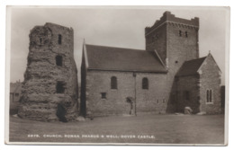 "DOVER Roman Pharos And Well  St. Mary Church / ""Sologlaze"" Series - E.A.S. Sweetman & Son, Tumbridge Wells / 6878 - Dover"