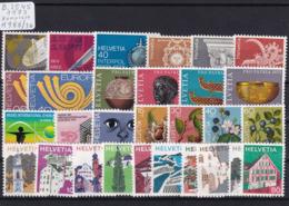 Schweiz 1973, Jahrgang Komplett (B.2545) - Switzerland