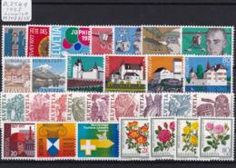 Schweiz 1977, Jahrgang Komplett (B.2549) - Switzerland