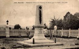 BASVILLE MONUMENT ELEVE A LA MEMOIRE DES MORTS POUR LA PATRIE  1914-1918 - France