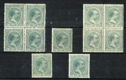 Cuba Española Nº 140/42 Nuevos. Cat.5,50€ - Cuba (1874-1898)