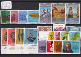 Schweiz 1975, Jahrgang Komplett (B.2547) - Switzerland