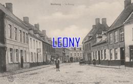 CPA  De ROBECQ  (62) - Le BOURG - ANIMATION - Visé MERVILLE N° 44 1918 - Other Municipalities