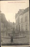 Cp Franconville Val D Oise, Rue De Cormeilles - France