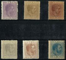 Cuba Española Lote 6 Sellos Nuevos. Cat.22,60€ - Cuba (1874-1898)