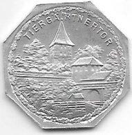 *notgeld Nurnberg 20 Pfennig ND Zn 10406.38  Tiergarrentor - [ 2] 1871-1918 : Empire Allemand