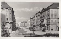 Zagreb - Zvonimirova Ulica Tram Strassenbahn 1940 - Kroatië