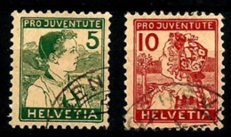 Suiza Nº 149/50 Usados. Cat.122€ - Used Stamps
