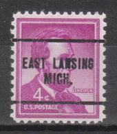 USA Precancel Vorausentwertung Preo, Locals Michigan, East Lansing 259 - United States