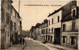 CPA FRANCONVILLE (S.-&-O.) - Rue De PARIS (290196) - Franconville
