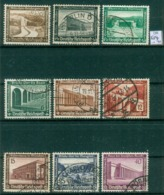 DR 1936  MiNr. 634 - 642       O / Used  (L1074) - Oblitérés