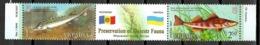 Ukraine 2007 Ucrania / Fishes Fish Joint Issue Moldova MNH Fische Peces Poisson / Cu10607  4-29 - Pesci