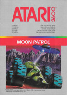 Manuel ATARI Moon Patrol Pour Atari 2600 - Atari