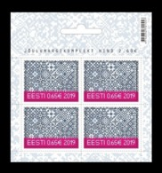 Estonia 2019 Mih. 968 Christmas (felt Stamp) (booklet) MNH ** - Estonia