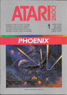 Manuel ATARI PHOENIX Pour Atari 2600 - Atari