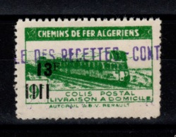 Algerie - Colis Postaux N** Luxe YV 170 - Pacchi Postali